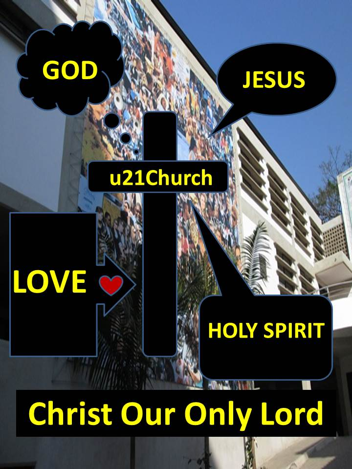 GOD-Jesus-Holy Spirit-Love Banner