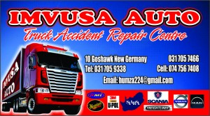 Imvusa Auto business cards