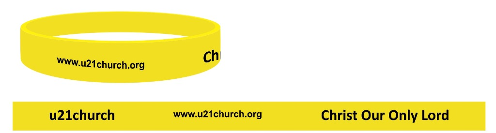 u21church - COOL wrist bands Header