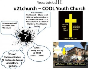 u21church invite Sundays