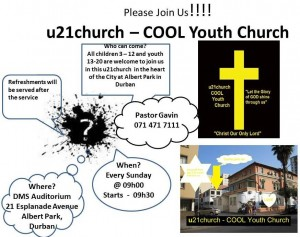 u21church invite Sundays Service