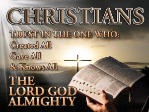 Christians Trust GOD