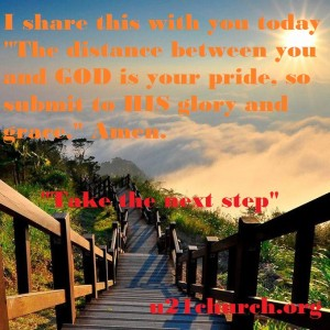 u21church - 21 Pride - Take the next step