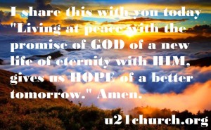 u21church - 26 PEACE