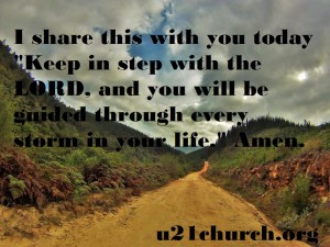 u21church - 33 Step with the LORD