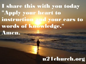 u21church - 75 Apply your Heart