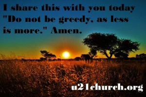 u21church - 81 GREEDY