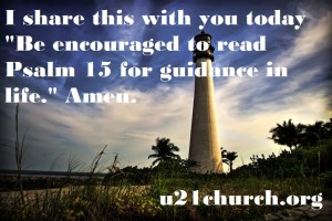 u21church - 109 PSALM 15