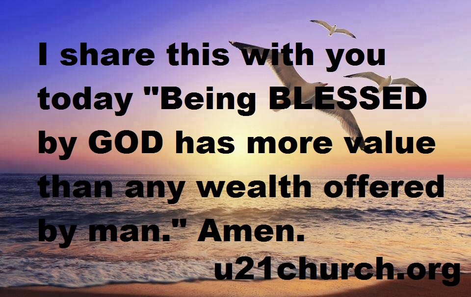 u21church - 139 BLESSINGS