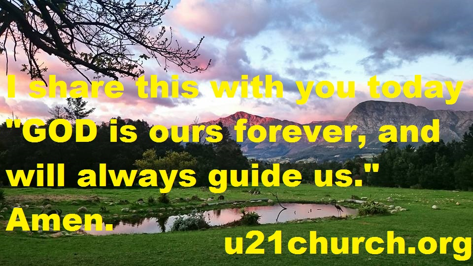 u21church - 151 GOD FOREVER