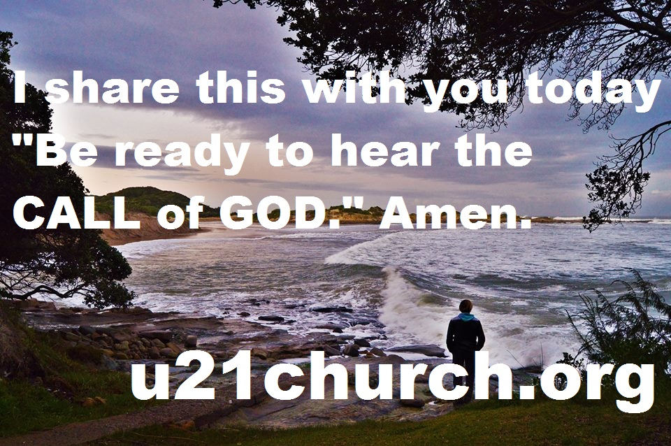 u21church - 152 CALL OF GOD