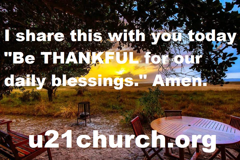 u21church - 152 THANKFUL