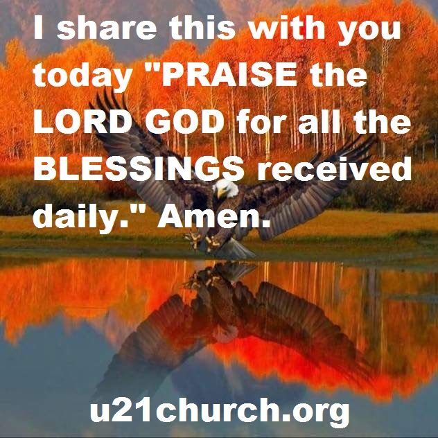u21church - 153 PRAISE - THANKFUL