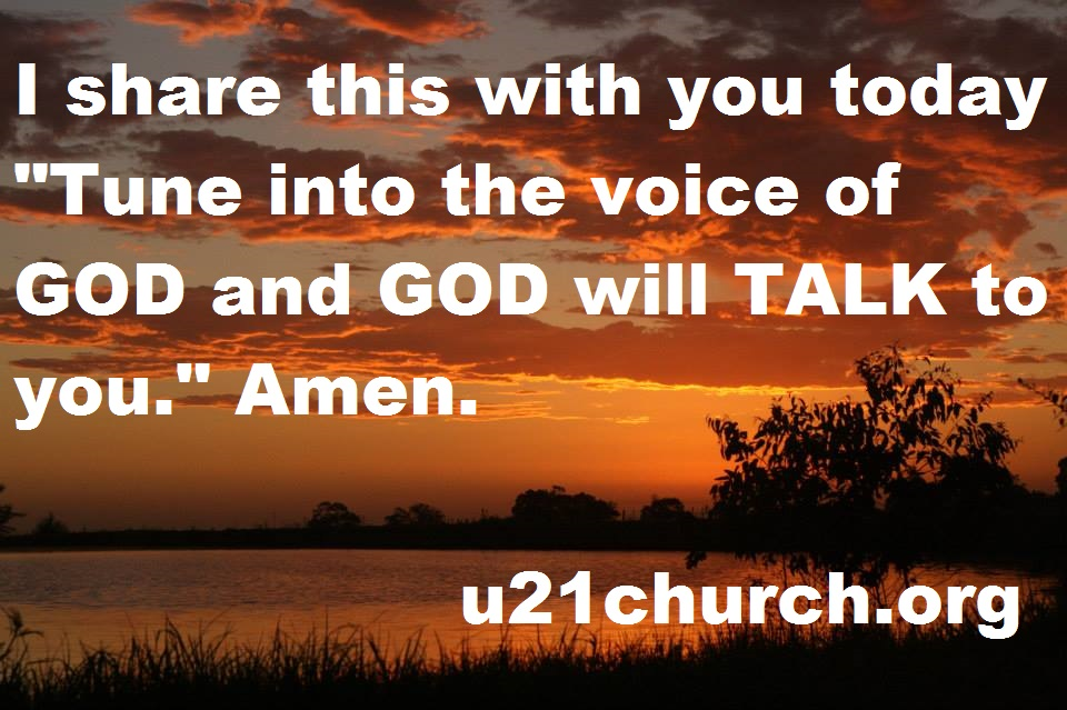 u21church - 164 Tune into GOD