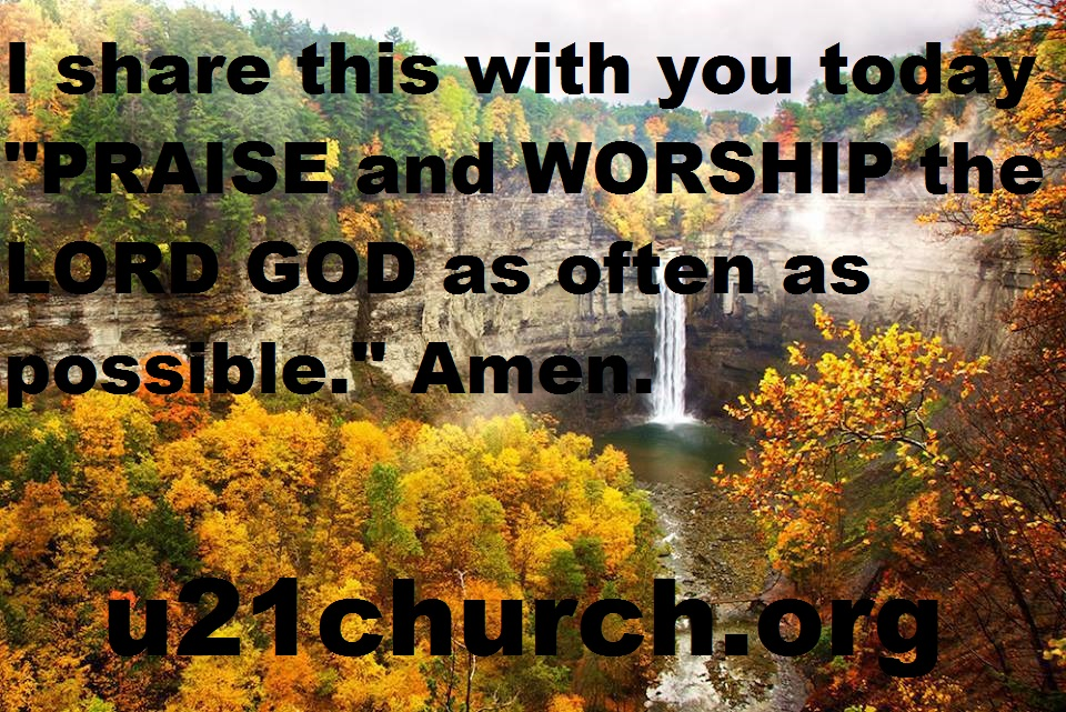 u21church - 185 PRAISE & WORSHIP