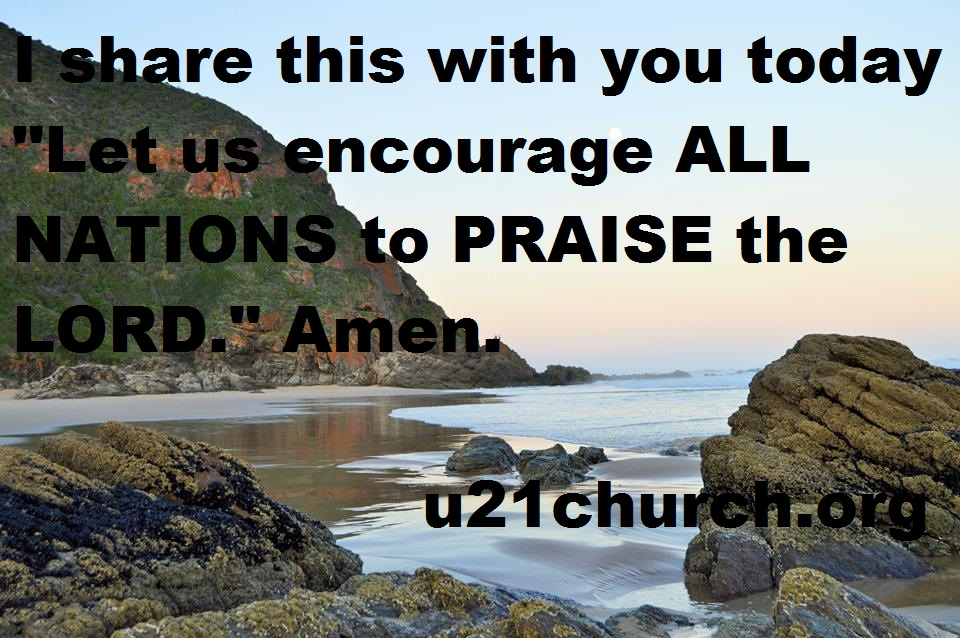 u21church - 194 PRAISE the LORD