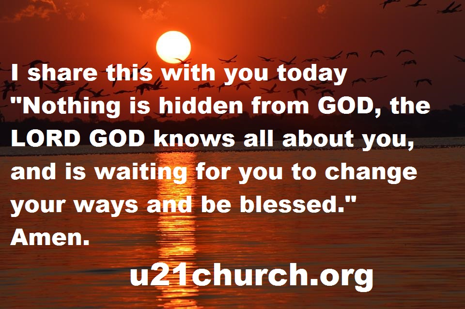 u21church - 199 Nothing is hidden