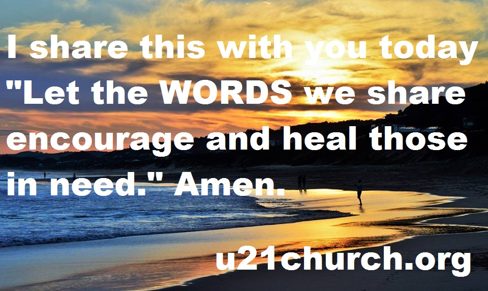 u21church - 201 WORDS