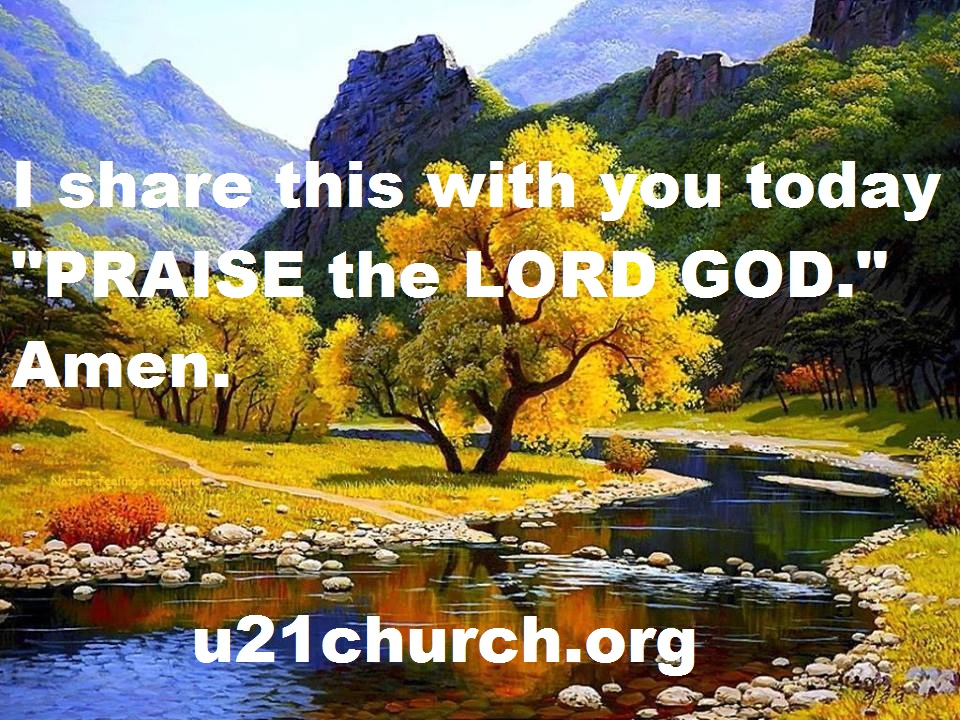 u21church - 202 PRAISE THE LORD