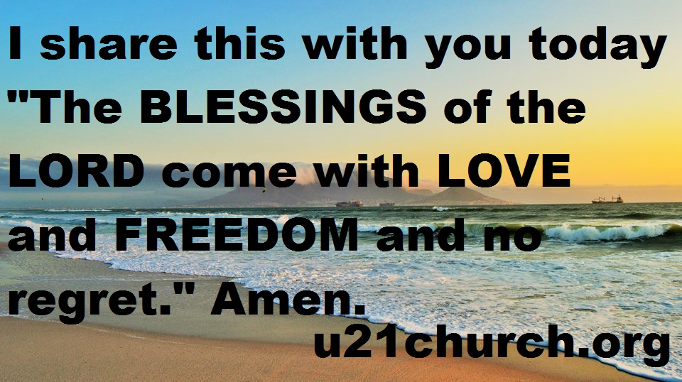 u21church - 225 BLESSINGS
