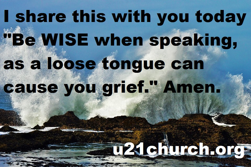 u21church - 232 BE WISE