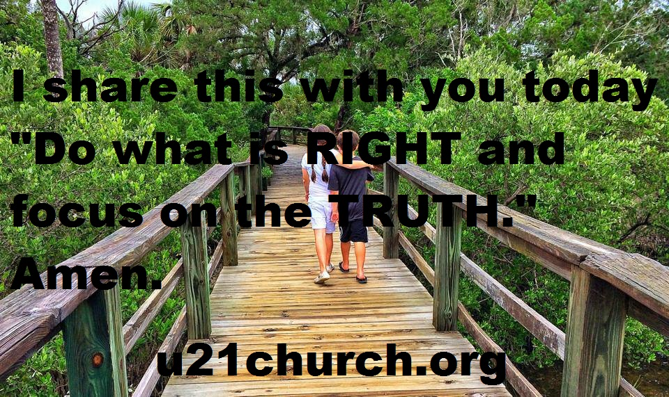 u21church - 233 DO RIGHT