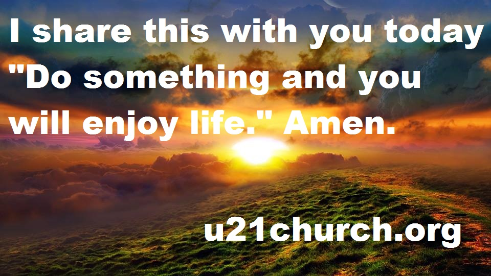 u21church - 266 DO SOMETHING