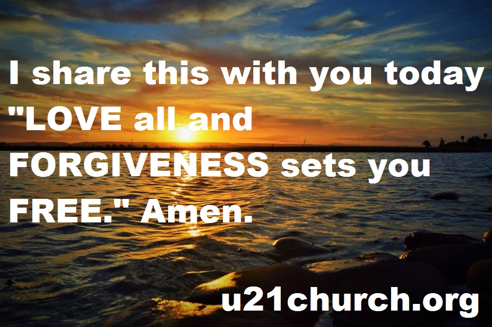 u21church - 299 LOVE-FORGIVENESS