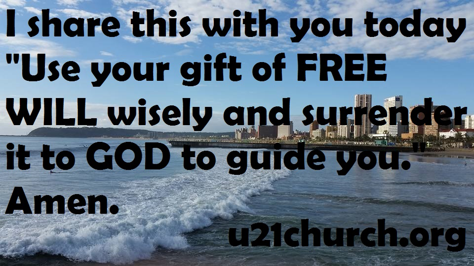 u21church - 340 FREE WILL