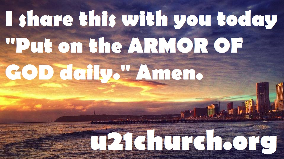u21church - 399 ARMOR OF GOD