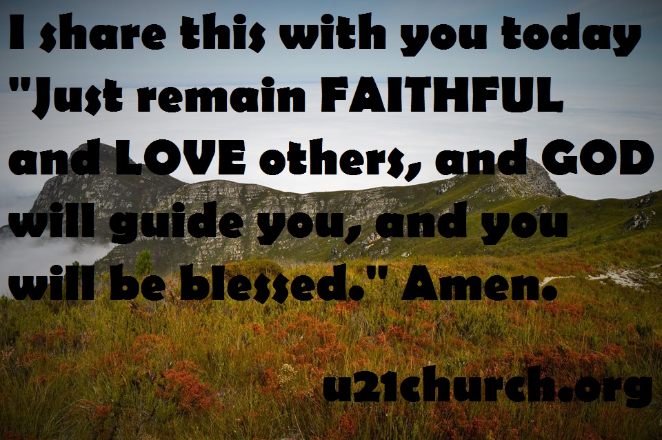 u21church - 401 FAITHFUL