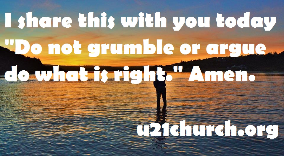 u21church - 412 DO what is right