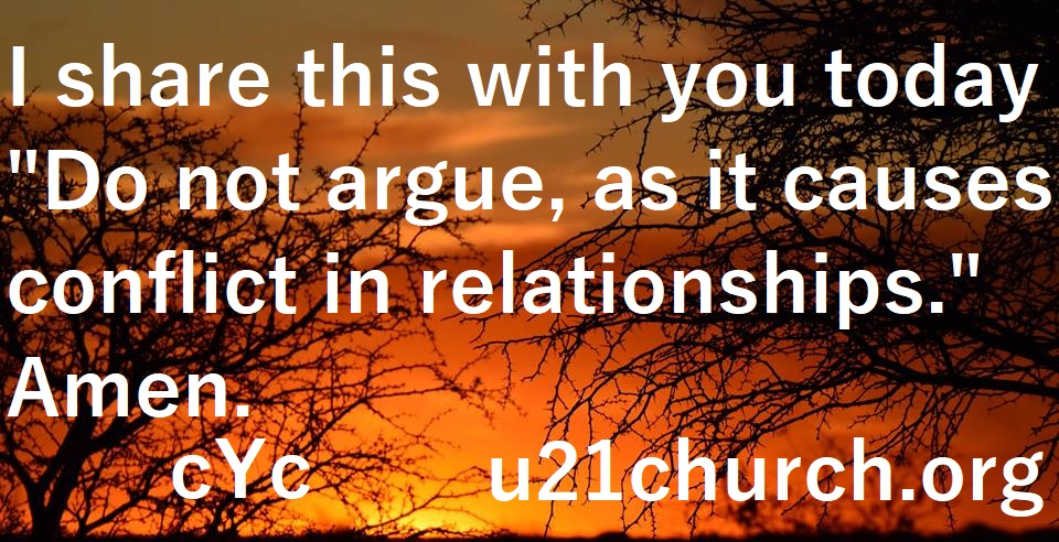 u21church - 425 DDO NOT ARGUE