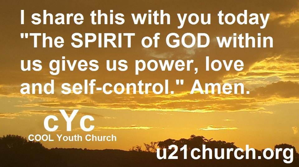 u21church - 452 SPIRIT of GOD