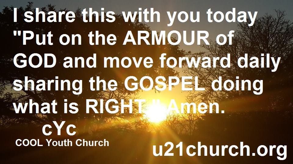 u21church - 460 ARMOUR OF GOD
