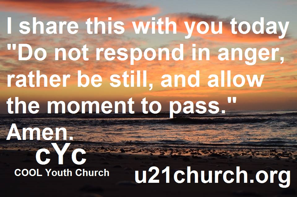 u21church - 481 BE STILL