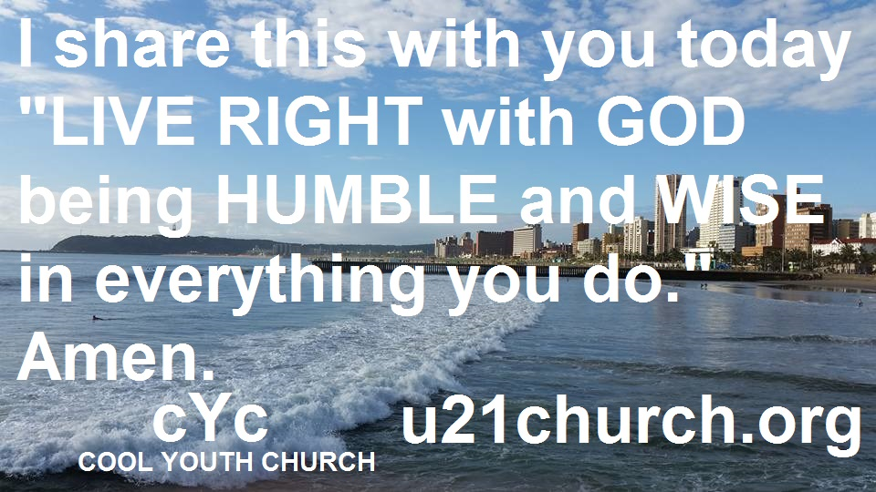 u21church - 489 LIVE RIGHT