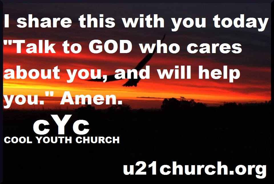 u21church - 510 TALK TO GOD