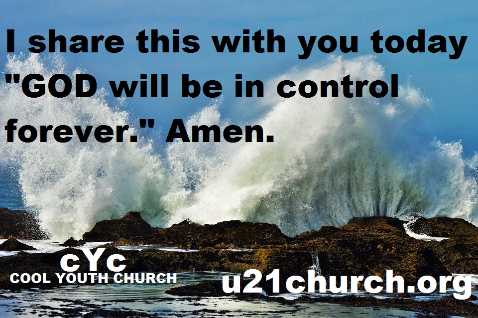 u21church - 511 GOD is in control