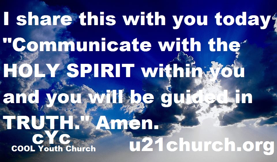 u21church - 518 HOLY SPIRIT