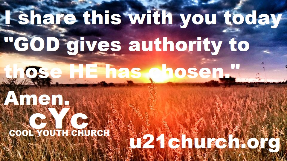u21church - 527 AUTHORITY