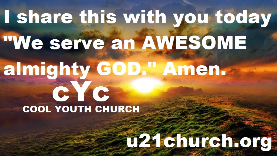 u21church - 681 2017 GOD