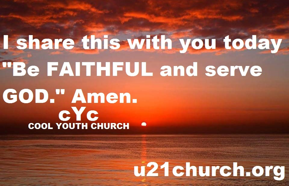 u21church - 693 2017 GOD
