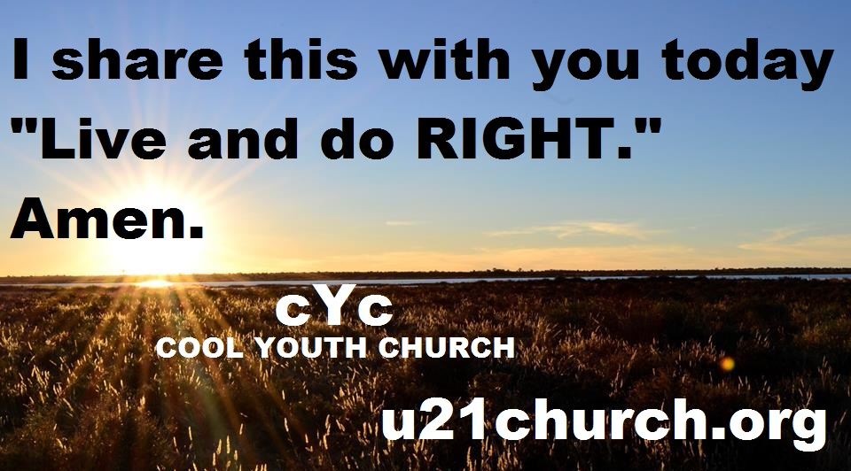 u21church - 700 2017 GOD