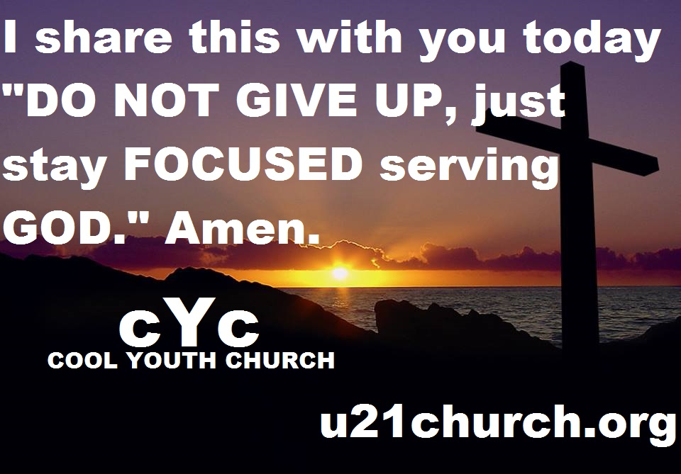 u21church - 722 2017 GOD