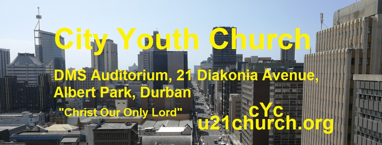 "City Youth Church       ""Christ Our Only Lord"""