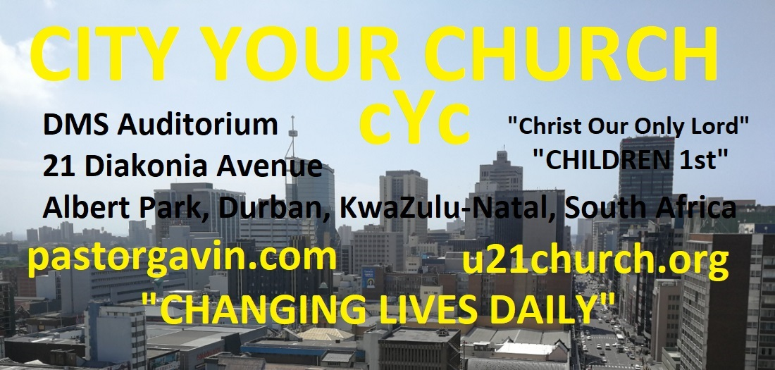 "City Your Church       ""Christ Our Only Lord"""